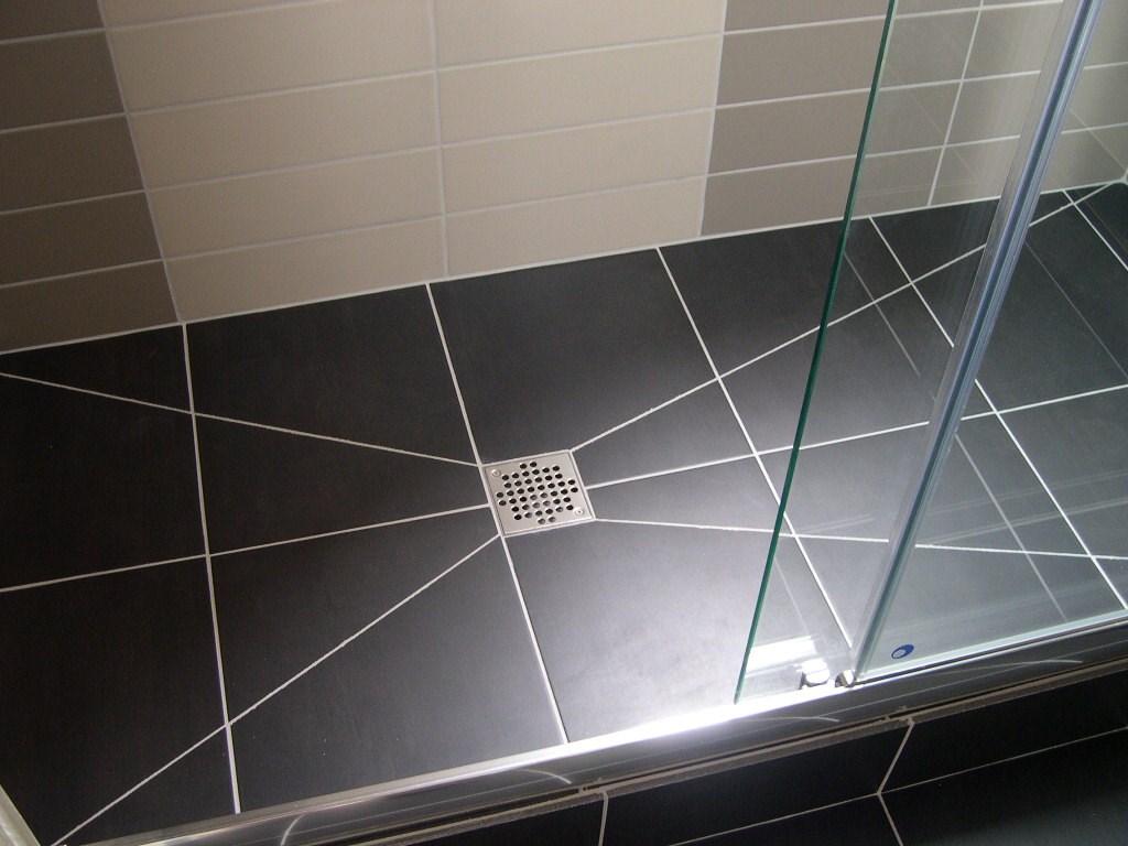 Renovel salle de bain bois colombes douche carrel e - Salle de bain carrelee ...